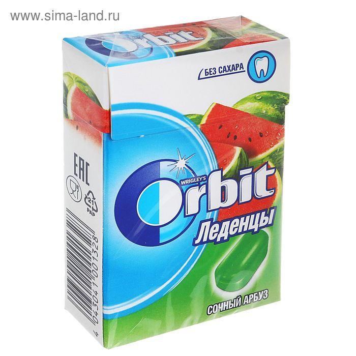 Освежающие леденцы Orbit, сочный арбуз, 35 г