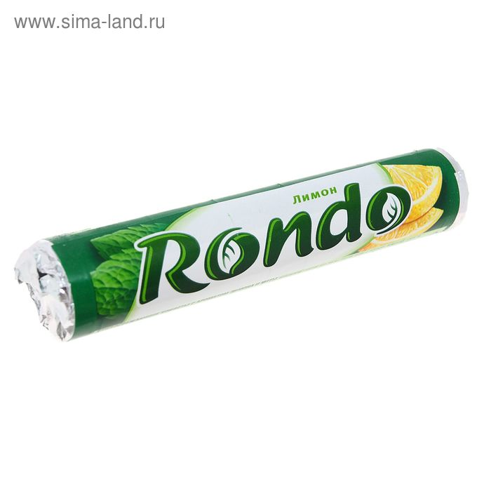 """Освежающие конфеты Rondo с сахаром, """"Лимон"""", 30 г"""