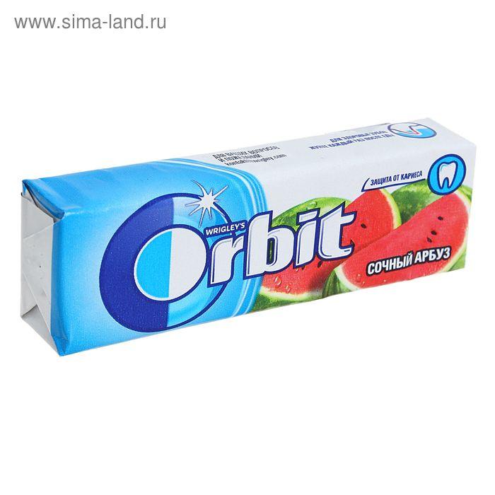 """Жевательная резинка  Wrigley's Orbit """"Сочный Арбуз"""" 13,6 г"""