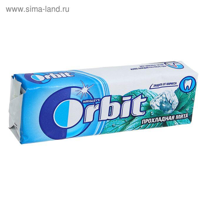 """Жевательная резинка  Wrigley's Orbit """"Прохладная Мята"""" 13,6 г"""