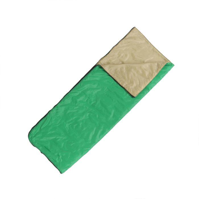 """Спальный мешок-одеяло """"Эконом+"""", 2-х слойный, размер 185 х 70 см, цвет микс"""