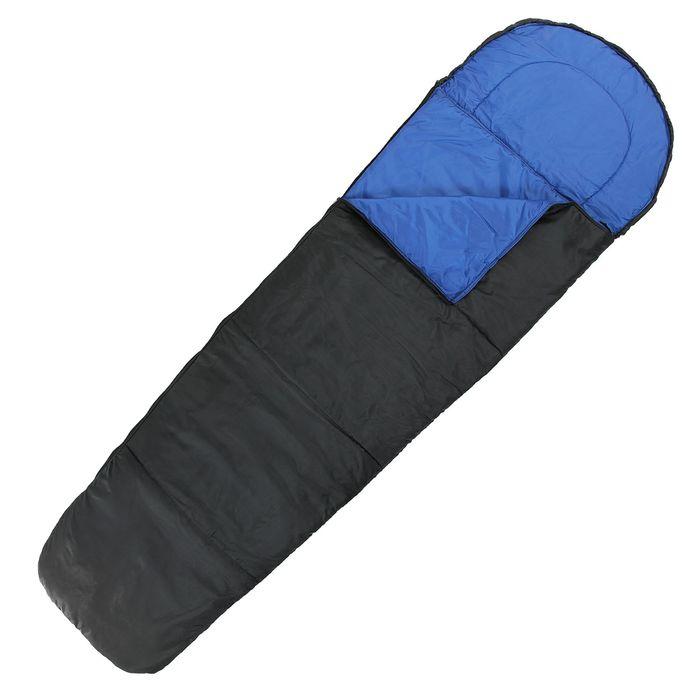 """Спальный мешок-кокон """"Комфорт"""", 2-х слойный, размер 210 х 70 см"""