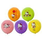 "Шар латексный 14"" Hello Kitty, пастель, 2-сторонний рисунок, набор 25 шт., цвета МИКС"