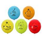 """Шар латексный 12"""" Angry Birds, пастель, 2-сторонний рисунок, набор 50 шт., цвета МИКС"""