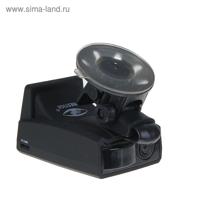 "Видеорегистратор Prestige MD-100, 2"" TFT, радар-детектор, обзор 140°, 1280х720 HD"