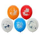 """Шар латексный 12"""" Disney """"День рождения! Винни"""", пастель, 2-сторонний рисунок, набор 50 шт., цвета МИКС"""