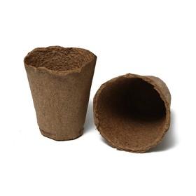 Торфяной горшок, 250 мл, 8 × 8 см Ош