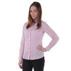 Блузка женская с длинным рукавом, размер 50, рост 170 см, цвет розовый/горох (арт. 15115 С+)