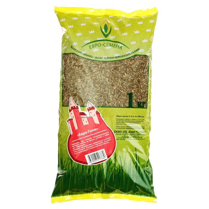 """Семена Газонная травосмесь """"Евро-Гном"""", 1 кг"""