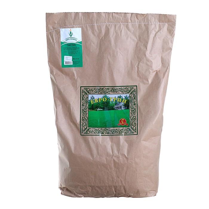 """Семена Газонная травосмесь """"Евро-Грин"""", 5 кг"""