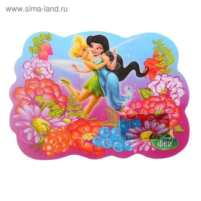 Накладка на стол дизайн фигурная 210*150 Disney Феи 15х21см, пластиковая 4254652