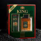 Подарочный набор для мужчин: туалетная вода King, 100 мл + дезодорант, 150 мл