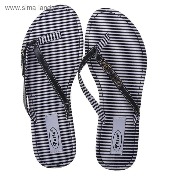 Туфли летние открытые женские Forio арт. 325-1015 (черный) (р. 37)