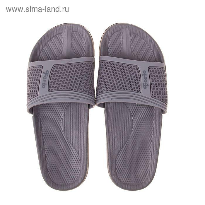 Туфли пляжные подростковые Forio арт. 239-3707 (серый) (р. 40)