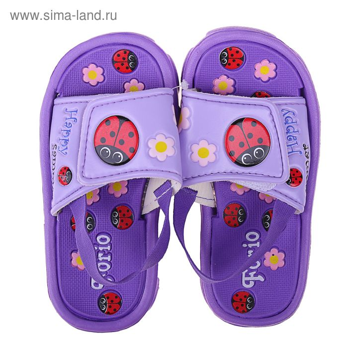 Туфли пляжные детские Forio арт. 236-5804 (сиреневый) (р. 28)