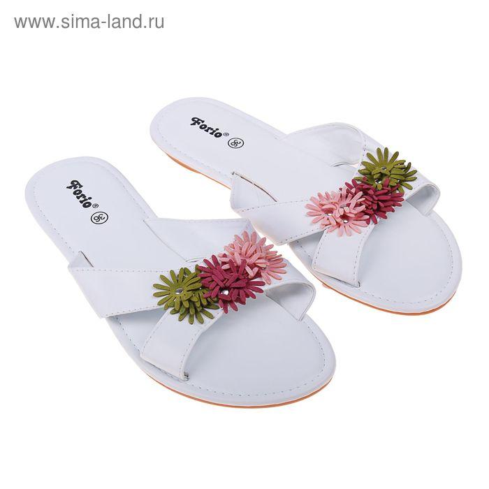 Туфли летние открытые женские Forio арт.335-3508 (белый) (р. 39)