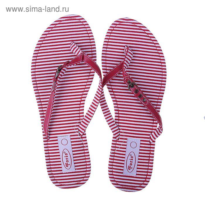 Туфли летние открытые женские Forio арт. 325-1015 (красный) (р. 37)
