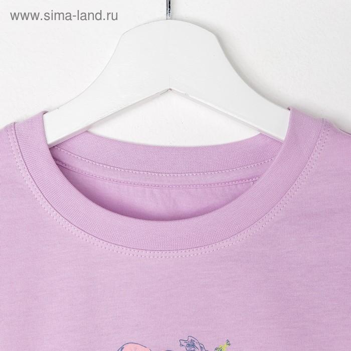 Джемпер для девочки, рост 140 см (72), цвет сирень_160089