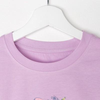 Джемпер для девочки, рост 128 см (64), цвет сирень_160089
