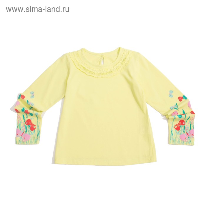 Джемпер для девочки, рост 110 см (60), цвет лайм_160081