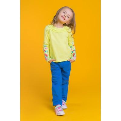 Джемпер для девочки, рост 116 см (60), цвет лайм_160081