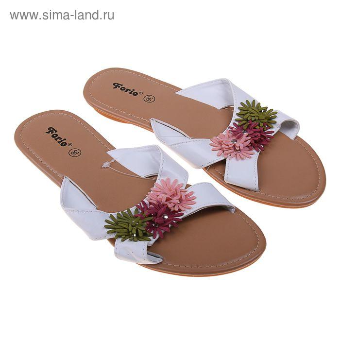 Туфли летние открытые женские Forio арт.335-3508 (бежевый) (р. 36)