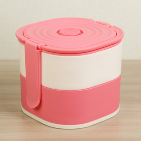 Lunch box 2 compartments 400/450 ml, MIX color