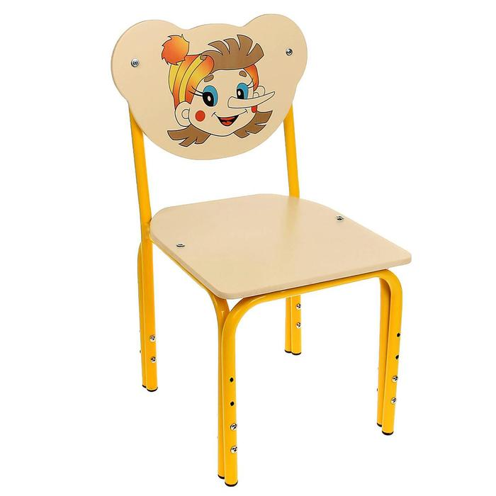 """Детский стульчик """"Кузя. Буратино"""" регулируемый, разборный"""