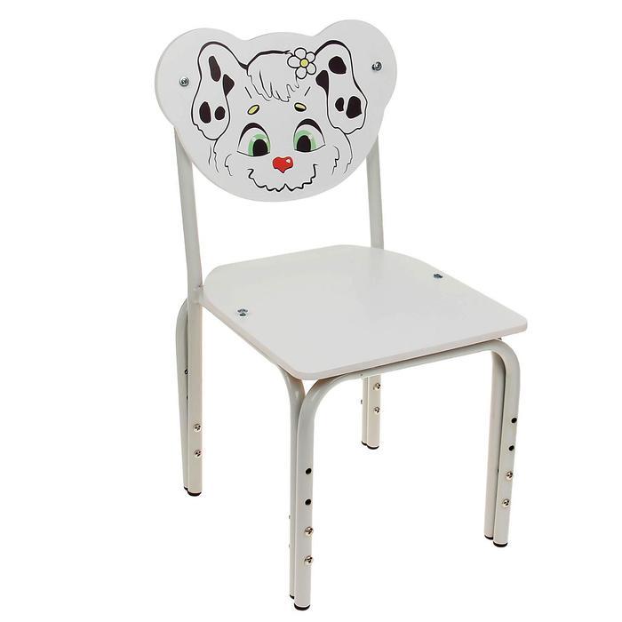 """Детский стульчик """"Кузя. Далматинец"""" регулируемый, разборный"""