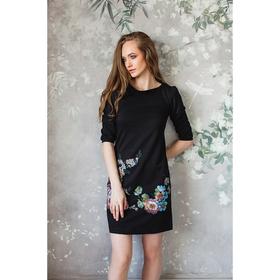 Платье женское М-231/1-05 черный, р-р 42