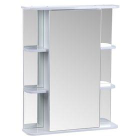 "Зеркало-шкаф ""Тура"", с двумя секциями полок, 65 х 15,4 х 83,2 мм"