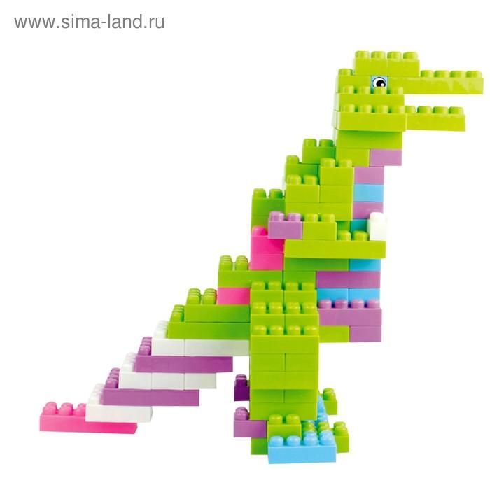 """Конструктор """"Забавные животные"""", 90 деталей"""