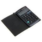 Калькулятор настольный 10-разрядный CT-300J, 72*120*9мм, двойное питание, черный