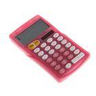 Калькулятор карманный 10-разрядный FC-100NPKCFS, 76*129*10мм, двойное питание, розовый