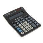 Калькулятор настольный 14-разрядный D-314, 155*205*28мм, двойное питание, черный