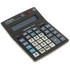Калькулятор настольный 16-разрядный D-316, 155*205*28мм, двойное питание, черный