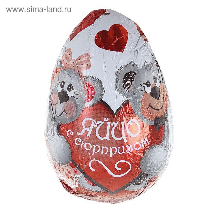 """Шоколадное Яйцо """"Любовь"""", 50 г"""