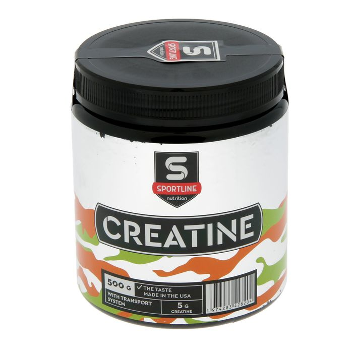 Креатин SportLine Creatine with Transport System 500g (Натуральный)