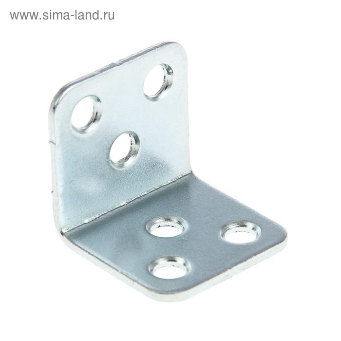 Уголок мебельный 30х30х1.8 мм, оцинкованный, в упаковке 500 шт.