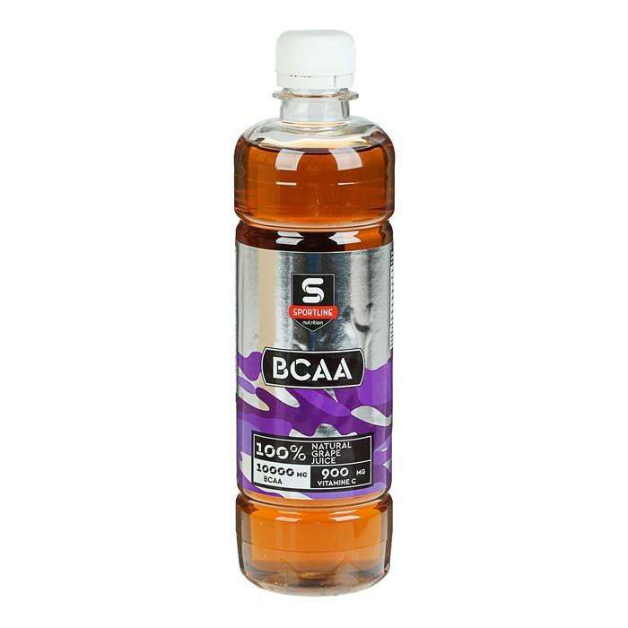Напиток SportLine BCAA, виноград, 6000 мг + 500 мл