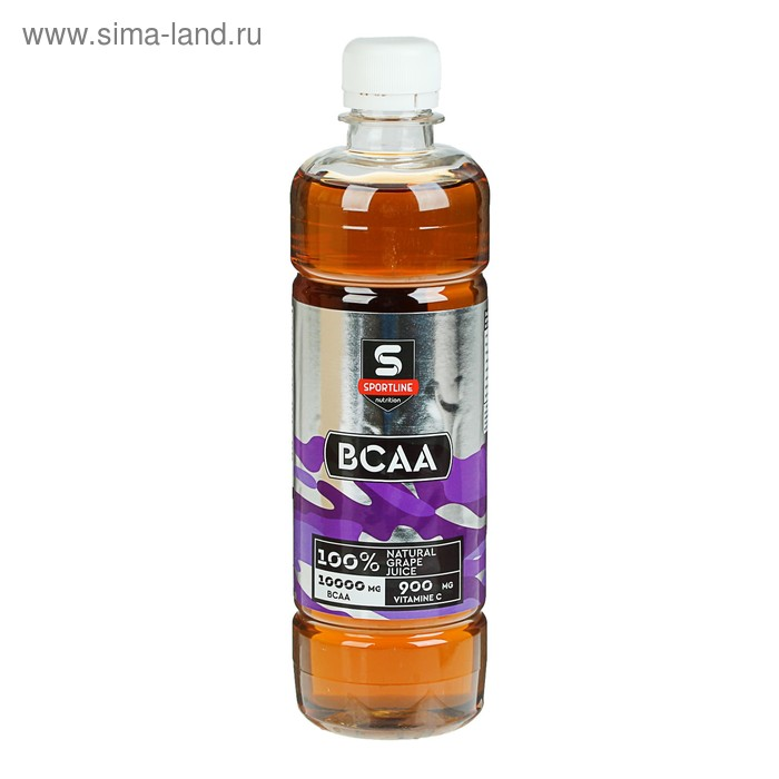 Напиток SportLine BCAA 6000mg 500ml (Виноград)