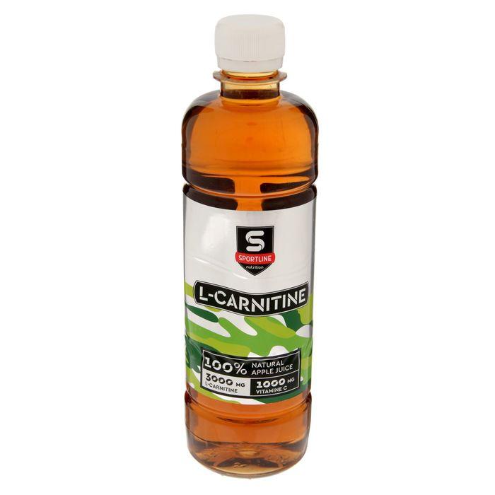 Напиток SportLine с L-Карнитином, яблоко, 6000 мг + 1000 мл