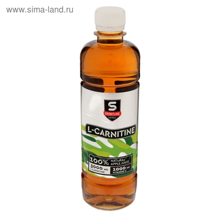 Напиток SportLine с L-Карнитином 6000mg 1000ml (Яблоко)