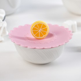 Крышка-непроливайка «Лимон», 11 см, цвет МИКС