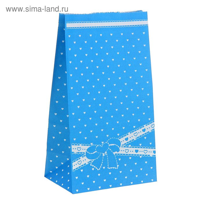 """Пакет фасовочный """"Бантик"""", цвет синий"""