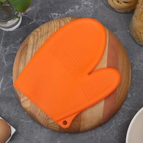 """Mitten for hot, silicone """"Debris"""", MIX colors"""