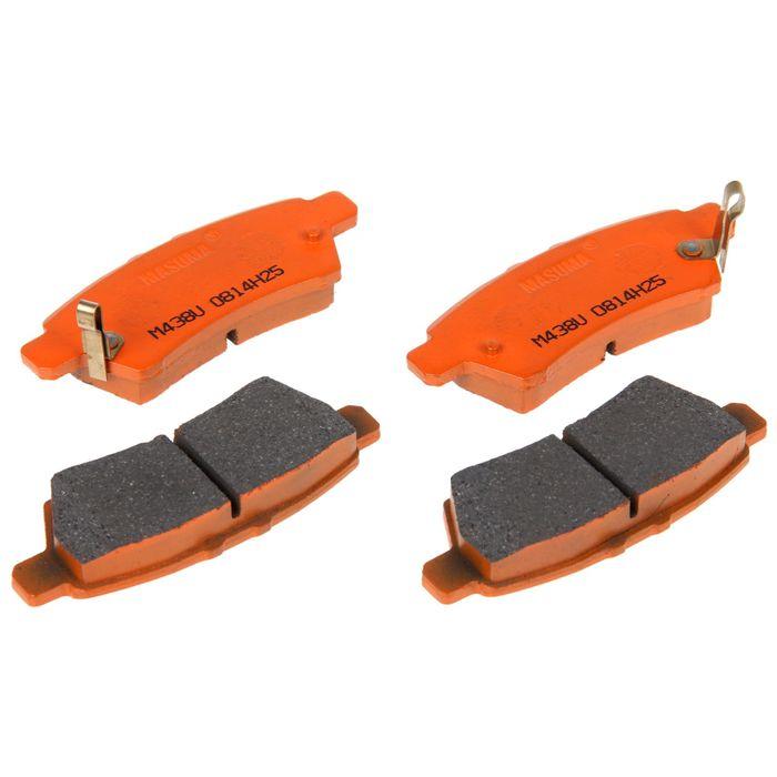 Колодки тормозные Masuma MS-2906, задние