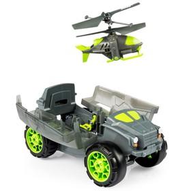 Игрушка «Бронемашина с вертолётом-разведчиком»