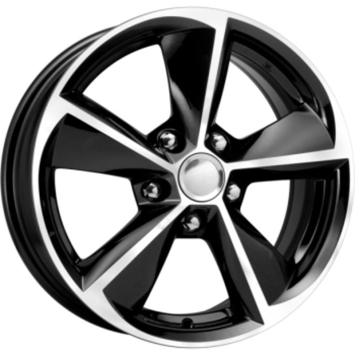 Диск КиК КС681 (ZV Corolla) 6,5x16 5x114,3 ET45 d60,1 алмаз черный (Арт.64433)