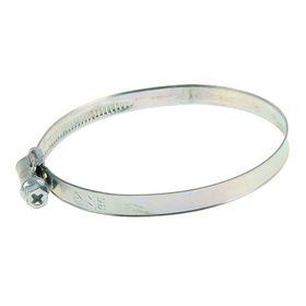 Хомут червячный «Стандарт», диаметр 77-95 мм, оцинкованный